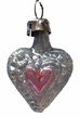 Mini Heart Ornament by Nostalgie-Christbaumschmuck UG