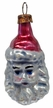 Mini Santa Head Ornament by Nostalgie-Christbaumschmuck UG