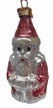 Mini Santa Ornament by Nostalgie-Christbaumschmuck UG
