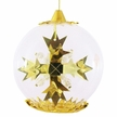 Gold Snowflake Ornament by Resl Lenz in Bodenkirchen