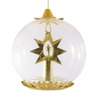 Gold Candle Ornament by Resl Lenz in Bodenkirchen