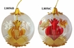 Second in the Twelve Days of Christmas Series, Two Turtle Doves, Gold Ornament by Resl Lenz in Bodenkirchen - $20.00 Each