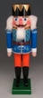 Blue King with Orange Pants Nutcracker by Werkst�tte Volker F�chtner