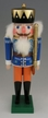 Blue King/Staff, wood crate Nutcracker by Werkst�tte Volker F�chtner