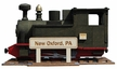 """Train """"New Oxford, PA"""" Limited Edition Smoker  by Kunstgewerbe Lenk & Sohn"""