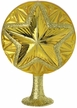 THE CHRISTMAS HAUS - Grandest Golden Star Tree Topper by Inge Glas