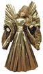 Wax Angel with Gold Pleated Dress by Margarete & Leonore Leidel in Iffeldorf