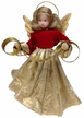 Wax Angel with Red and Gold Dress by Margarete & Leonore Leidel in Iffeldorf