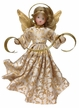 Wax Angel with Gold Brocade Dress by Margarete & Leonore Leidel in Iffeldorf