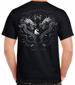 Badass Jewelry Bengal Rising Men's Black T-shirt