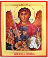 Archangel Michael, Defender of the Faith. Orthodox Christian Icon