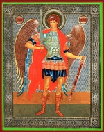 Archangel Michael, Orthodox Icon, Medium