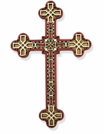Wooden Laser Cut Cross, 7 1/2""