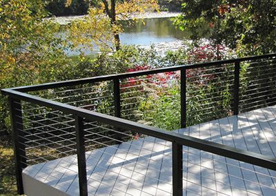 Cable Railing Systems Square Aluminum Railing