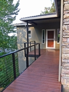 Black Aluminum Cable Railing - Happy Valley, OR