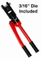 "Cable Crimper & Die: For 3/16"" cable railing systems"