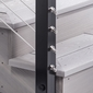 Cable Railing Post - Fascia Mount, Terminal