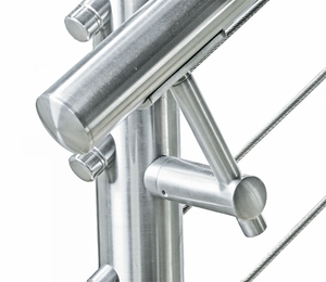 stainless steel handrail bracket cable railing