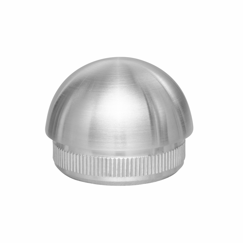 Stainless Steel Round 1 5 Quot Domed Endcap