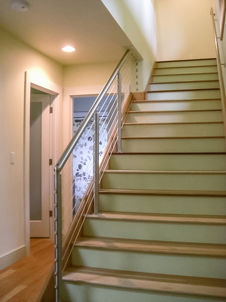 Stainless Steel Round Cable Railing Seattle Wa