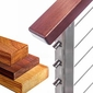 Wood Top Rails & Components