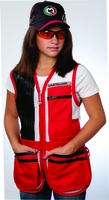 WOMEN SPORTING CLAYS 100% Nylon Mesh Shooting Vest