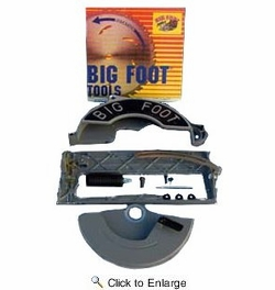 "Big Foot KIT  10-1/4"" Framing Saw Adapter Kit for 7-1/4"" Skil & Bosch Wormdrive Saws"