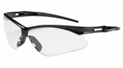 Bouton Safety Glasses 250-AN-10110  Anser - Clear Anti-Scratch Lens With Black Frames