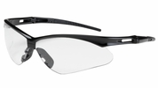 Bouton Safety Glasses 250-AN-10111  Anser - Clear Anti-Scratch Anti-Fog Lens With Black Frames
