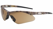 Bouton Safety Glasses 250-AN-10121  Anser - Brown Anti-Scratch Lens With Camouflage Frames