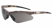 Bouton Safety Glasses 250-AN-10123  Anser - Gray Anti-Scratch Lens With Camouflage Frames