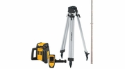 CST/Berger RL25HCK  Horizontal - Exterior Self-Leveling Rotary Laser with Tripod and Leveling Rod (F 034 061 014)
