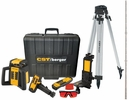 CST/Berger RL25HVCK  Horizontal - Vertical and Interior - Exterior Rotary Laser with Detector, Tripod and Leveling Rod