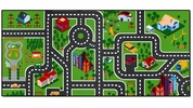 "Fan Mats 20858  Children's 31.25"" x 66"" Play Mat"