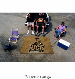 "Fan Mats 4216  UCF - University of Central Florida Knights 60"" x 72"" Tailgater Mat / Area Rug"