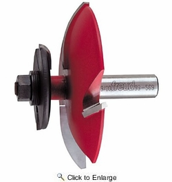 Freud 99-569 Quadra-Cut Cove Raised Panel Router Bit with Backcutters