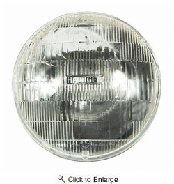 GE Lighting H5024  Automotive High/Low Beam Light Round Sealed Beam Long Life Headlight Bulb (19428) 1 Lamp per Box