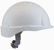 JSP 280-EV6151-10  Evolution Deluxe - Standard Brim Hard Hat With 6 Point Polyester Suspension And Wheel Ratchet Adjustment - White