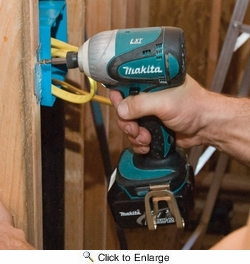 """Makita LXT218  18-Volt LXT Lithium-ion 2-Piece Cordless Tool Combo Kit (1/2"""" Hammer Driver-Drill, Impact Driver)"""