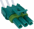 Pico 5613A  1982-On GM Manifold Absolute Pressure (MAP) Three Lead Wiring Pigtail - Green (12085502) 25 Per Package