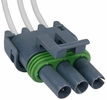 Pico 5614A  1984-1989 GM Air Conditioner Pressure Switch Three Lead Wiring Pigtail - Gray (12085507) 25 Per Package