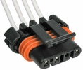 Pico 5628PT  1986-On GM Neutral and Park Switch, Wheel and Speed Sensors Four Lead Wiring Pigtail (12085537)