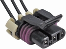 Pico 5629A  1986-On GM Air Flow - Cam Position Sensors Three Lead Wiring Pigtail (88986451) 25 Per Package