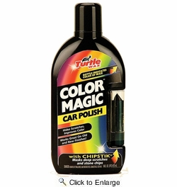 Turtle Wax T374KTR  Color Magic Car Polish with Chip Stik - Black - 16 oz