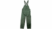 Viking Wear  2910PG  Open Road 150D Green Rain Bibs with Supenders - Large