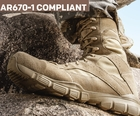 AR670-1 Compliant Military Boots