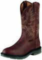 Ariat Men Maverick II Pull On Steel Toe Work Safety Boots Alamo Brown 10008650