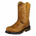 Ariat WorkHog RT Pull On H2O Composite Toe Rugged Bark Work Boots 10004889