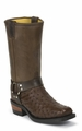 """Chippewa 12"""" Ostrich Harness Motorcycle Boot 27896"""