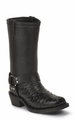 """Chippewa 12"""" Ostrich Harness Motorcycle Boot 27895"""